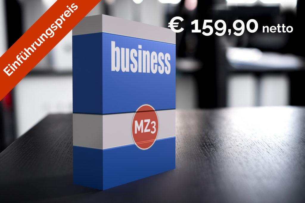 mz3 business Einführungspreis