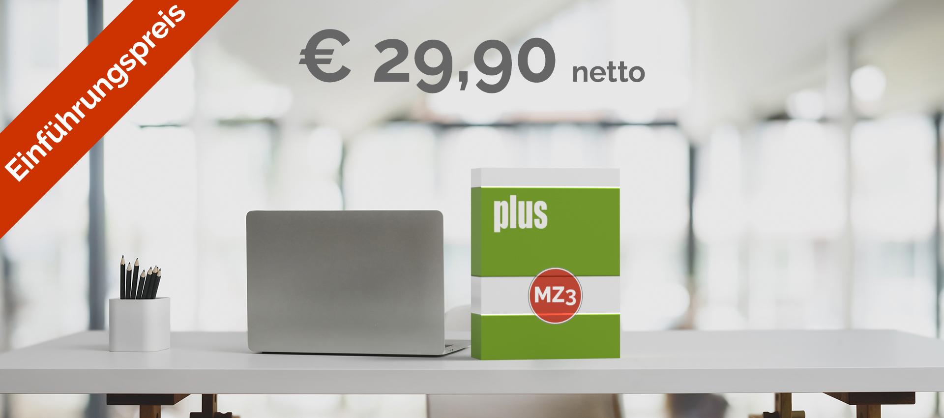 MZ3 plus - Einstiegsversion mit Offline plus Online Books