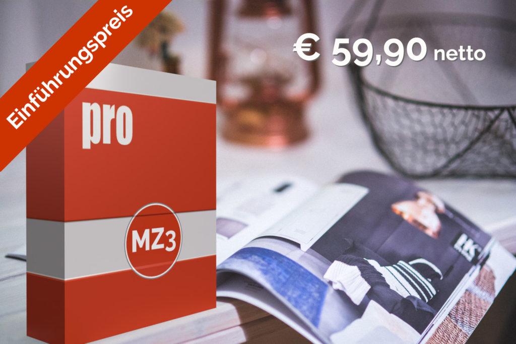 mz3 pro Einführungspreis