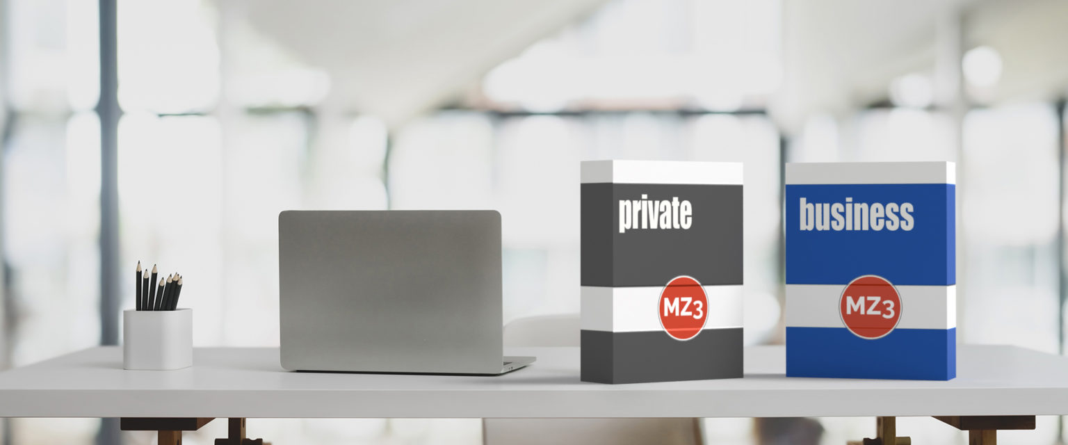 MZ3 private und busines Lizenzen